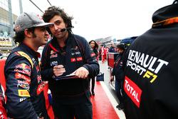 Carlos Sainz Jr., Scuderia Toro Rosso en la parilla
