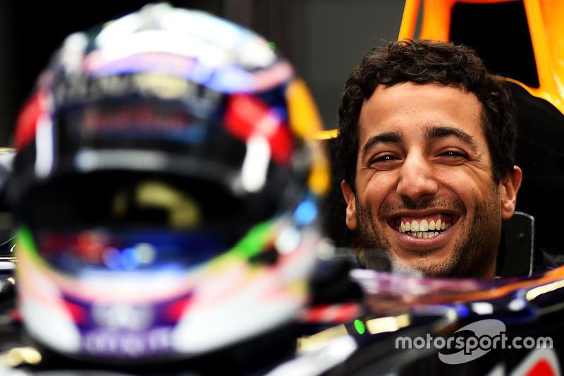 Goedlachse Ricciardo