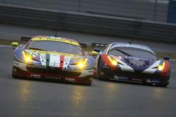 #71 AF Corse Ferrari 458 GTE: Davide Rigon, James Calado and #72 SMP Racing Ferrari 458 GTE: Andrea Bertolini, Viktor Shaitar, Alexey Basov