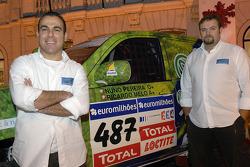 Equipa Padock: Nuno Pereira and Ricardo Melo