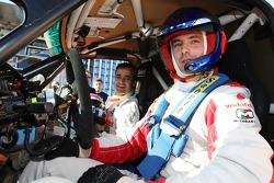 X-Raid: Miguel Barbosa with guest co-driver Pedro Lamy