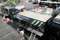 Team Dakar USA: Team Dakar USA gets ready for the Dakar at their shop in Anaheim, California