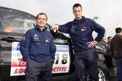 Miguel Barbosa and Miguel Ramalho
