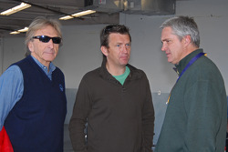 Derek Bell, Justin Bell and Eddie Cheever