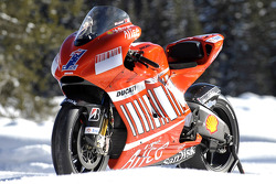 The new Ducati Desmosedici GP8