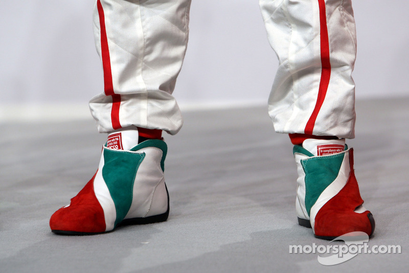 Shoes of Jarno Trulli