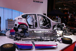 Prodrive car in bits