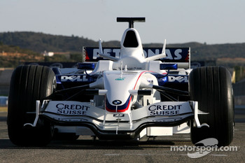 New BMW Sauber F1.08