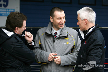 Christian Horner, Red Bull Racing, Sporting Director, Rob White Renault, Geoff Willis, Red Bull Racing, Technical Director
