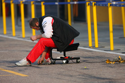 Toyota F1 Team mechanic