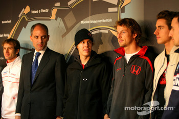 Sebastian Vettel, Scuderia Toro Rosso, Jenson Button, Honda Racing F1 Team Jenson Button, Honda Racing F1 Team