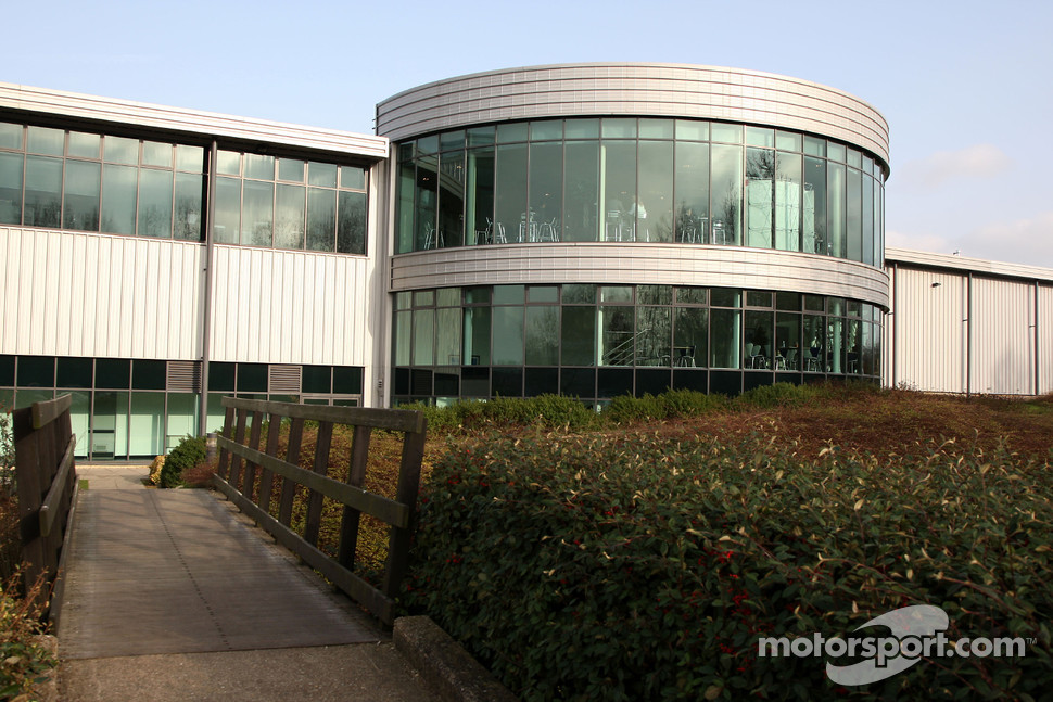 Honda Racing F1 Team factory