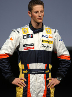 Romain Grosjean Test Driver