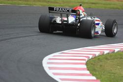 Loic Duval, driver of A1 Team France