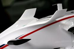 BMW Sauber F1 F1.08 wing detail