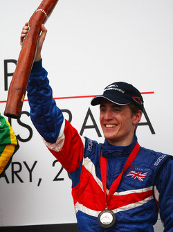 3rd place Robbie Kerr, driver of A1 Team Great Britain