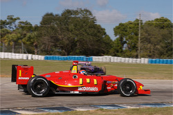 Justin Wilson passes by as Mario Moraes is stopped