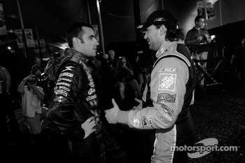Dario Franchitti and Tony Stewart