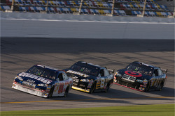 Dale Earnhardt Jr. leads Mark Martin and Reed Sorenson