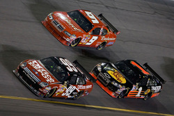 Carl Edwards, Kasey Kahne and Martin Truex Jr.