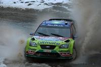 WRC Фото - Микко Хирвонен и Ярмо Лехтинен, Ford