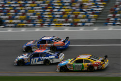 Patrick Carpentier, Stanton Barrett and Kyle Busch