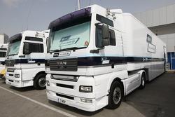 Williams F1 Team, trucks