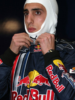 Sébastien Buemi, test driver, Red Bull Racing