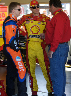 Jeff Burton and Kevin Harvick