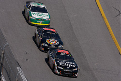 Jason Leffler, Johnny Sauter and Scott Wimmer