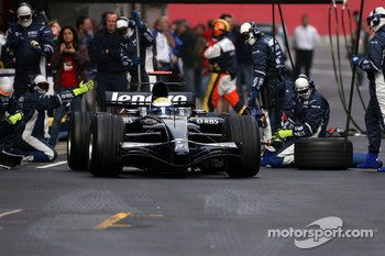 Nico Rosberg, Williams F1 Team after pitstop