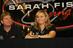 Sarah Fisher Racing press conference: Sarah Fisher