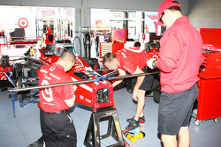 Chip Ganassi Racing team members at work