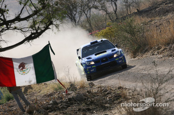 Petter Solberg and Phil Mills, Subaru World Rally Team, Subaru Impreza WRC 2006