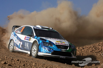 François Duval and Eddy Chevailler, Stobart VK M-Sport Ford World Rally Team, Ford Focus RS WRC