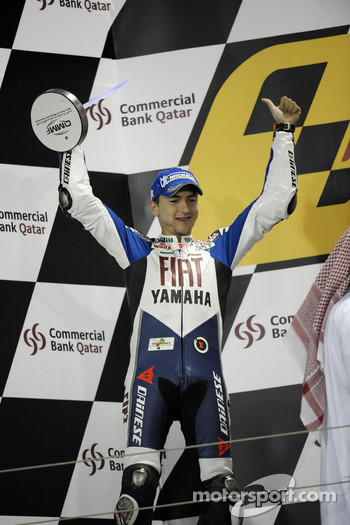 Podium: Jorge Lorenzo