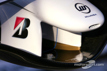Williams FW30 front wing detail