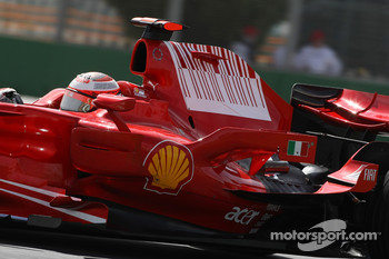 Technical feature, engine cover and side wing, Kimi Raikkonen, Scuderia Ferrari