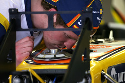 Team Renault mechanic