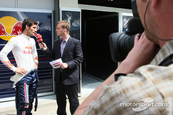 Mark Webber, Red Bull Racing and Peter Lauterbach