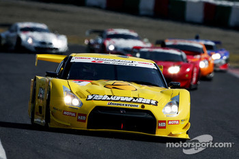 #3 YellowHat Yms Tomica GT-R: Ronnie Quintarelli, Naoki Yokomizo