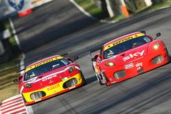 #56 CR Scuderia, Ferrari 430 GT2: Andrew Kirkaldy, Tim Mullen
