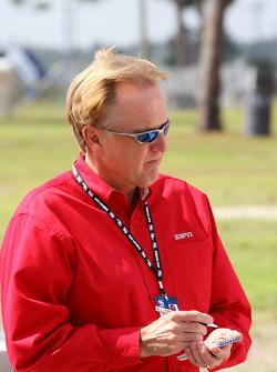 ABC and ESPN announcer Marty Reid