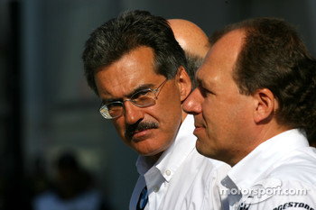 Dr. Mario Theissen, BMW Sauber F1 Team, BMW Motorsport Director, Willy Rampf, BMW-Sauber, Technical Director
