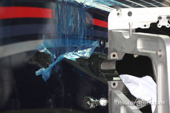 Red Bull Racing, RB4, Suspension detail