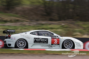 GT3 Ferrari 430: Ben De Zille Butler and Guy Harrington