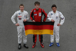 Formula BMW Europe 2008, German Drivers Group Picture
