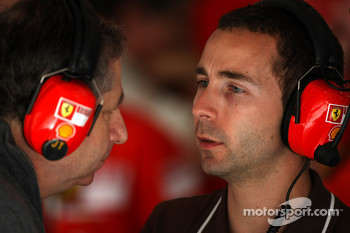 Nicolas Todt, Manager of Felipe Massa and his father Jean Todt, Scuderia Ferrari, Ferrari CEO