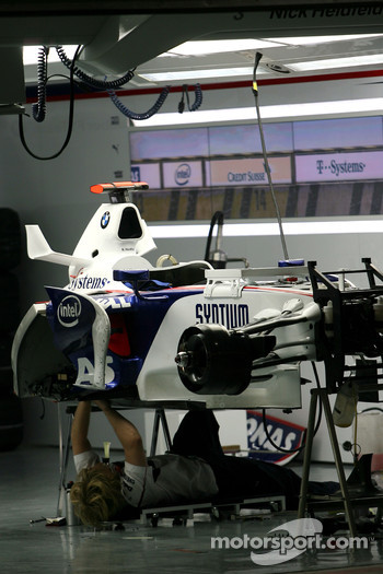 Night atmosphere, BMW Sauber F1 Team