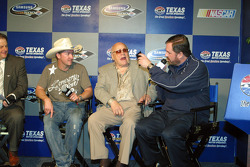 Chef Tim Long, Bruton Smith and Eddie Gossage